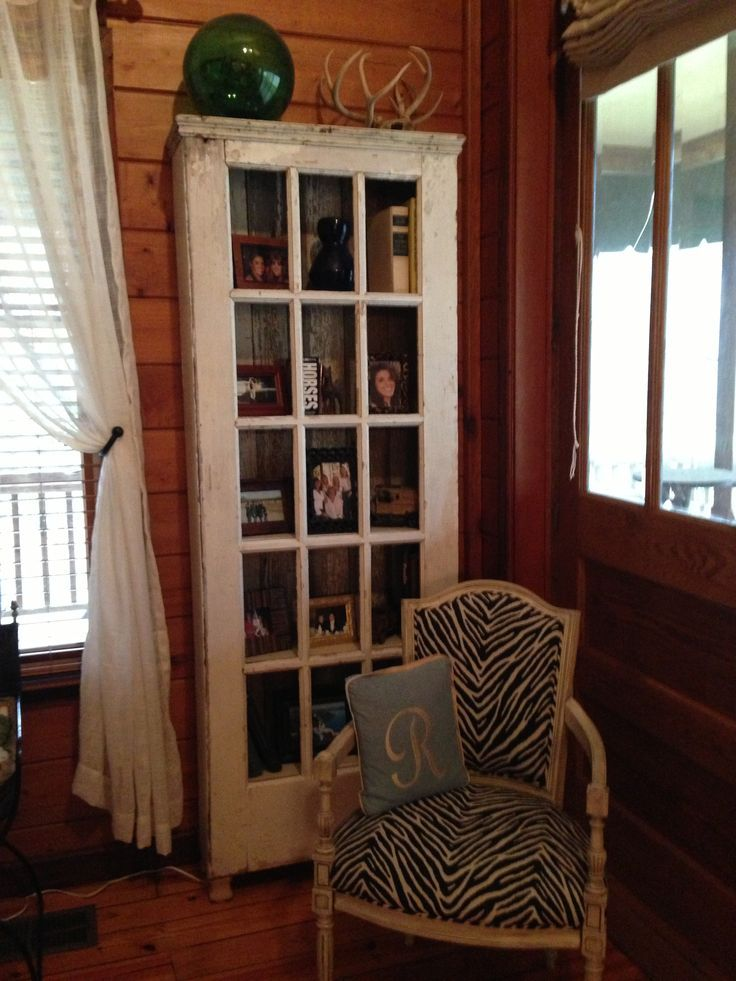 dad buys old doors for and transforms